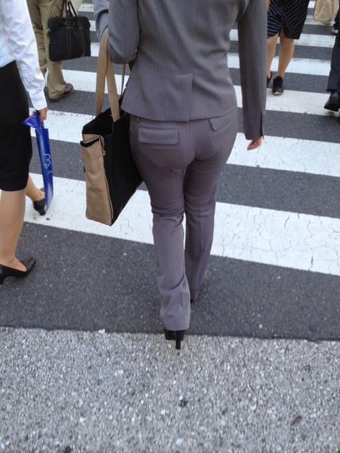 街で見かけた魅力的なお尻がこれだ!!