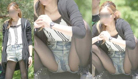 公園に行ったら、エロいママさんが撮り放題ワロタwww