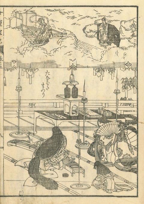 葛飾応為『女重宝記』五_すみだ北斎美術館