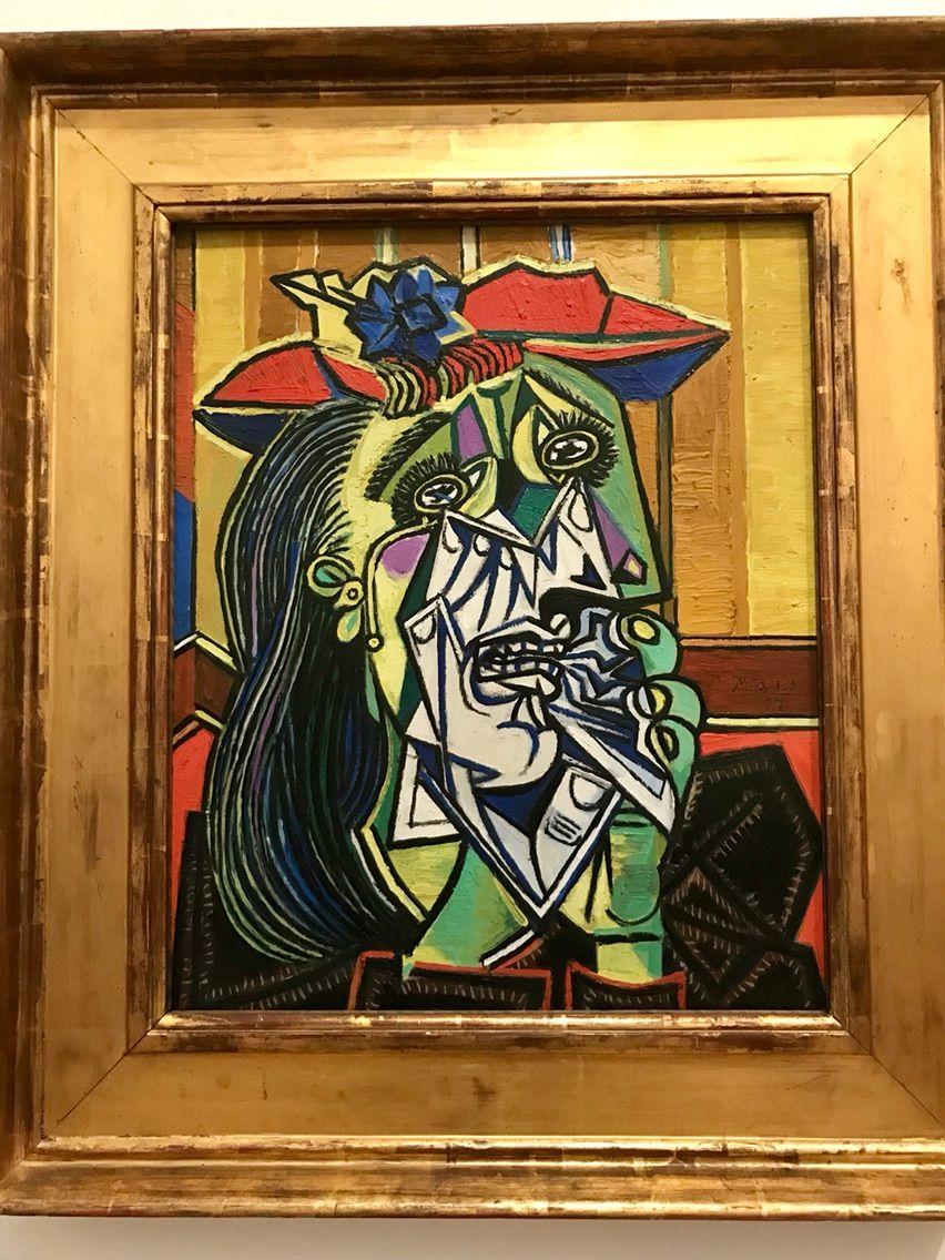 パブロ・ピカソ「泣く女」(1937年) テート・モダン