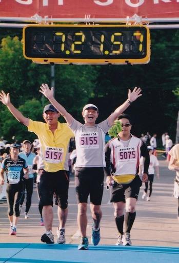 サロマ湖 50km マラソン 2011年�