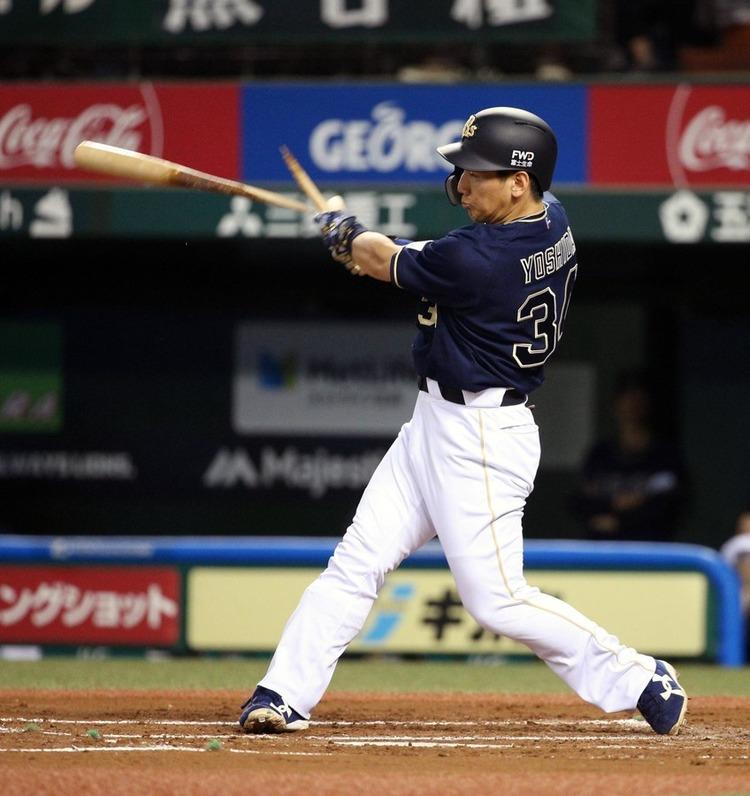【アメイジング】吉田正尚さん、バット折りながらホームラン!なんちゅーやつや…