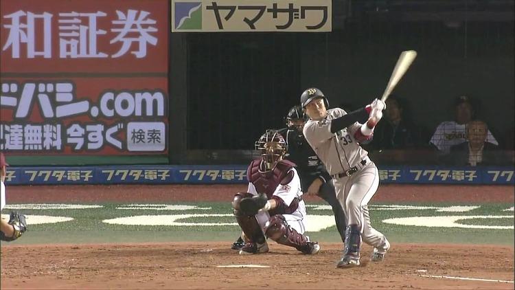 プロ3年目の縞田、初ホームランはJR東日本が通る仙台で!レール感ある素晴らしいバッティングで打球はフェンスを越える!