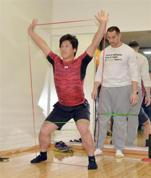 オリックス吉田正尚、今オフも室伏道場で体作りへ!「継続しないと意味がない」
