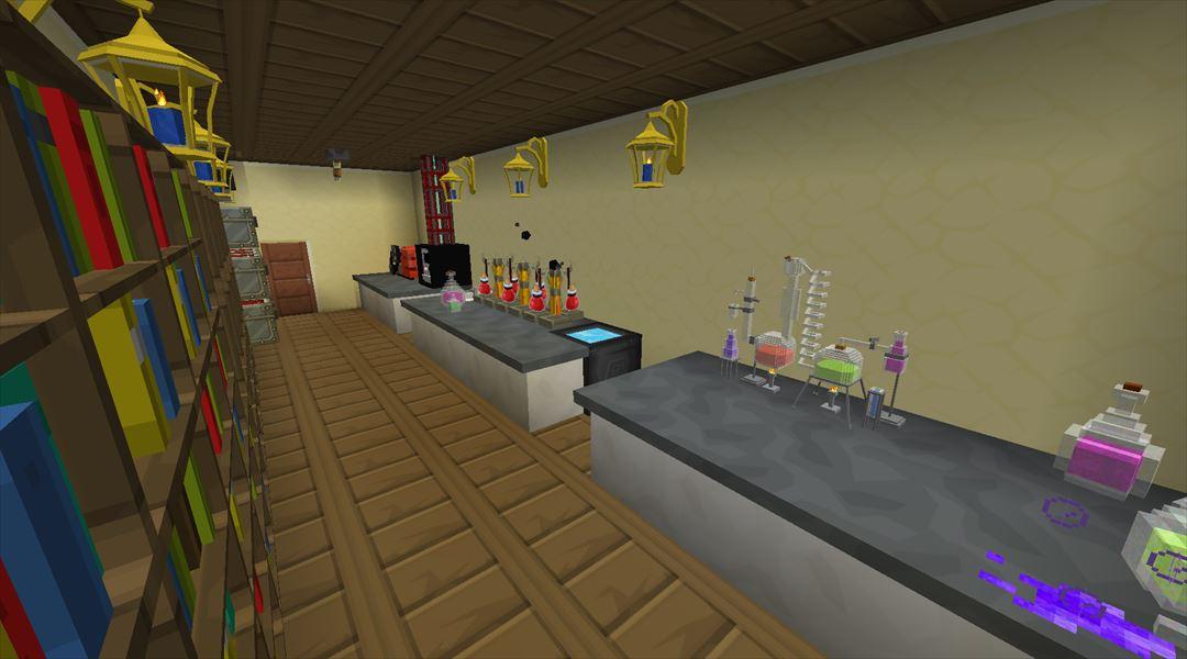 MINECRAFT JP: オルレフ邸の建設!醸造(ポーション作成)部屋を作る!