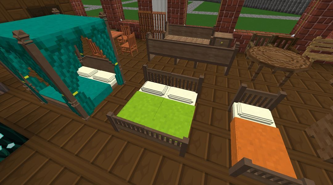 マイクラ pe 家具