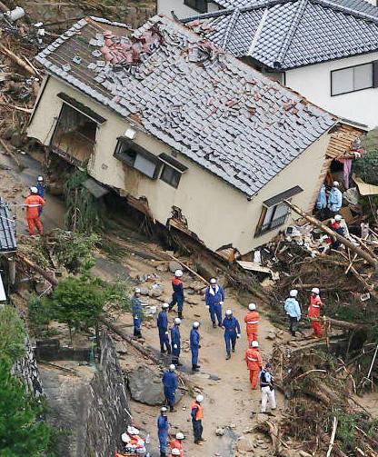 広島県に「土砂災害」が多いのはなぜ?【広島土砂災害】 : 広島県に土砂災害が多いのはなぜ?【広島