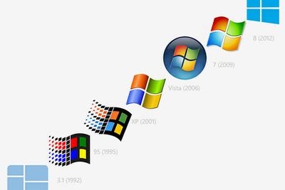 IT情報つめこみ速報|Microsoft-Windows-logo-history