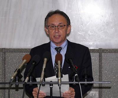 沖縄県の玉城デニー知事「辺野古県民投票は予定通り実施する。不参加の市抜きでも構わない」