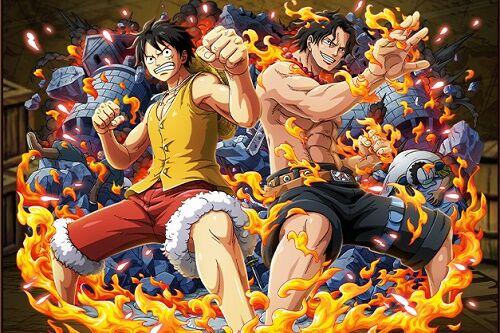 アニメ史上最強の兄弟姉妹ランキング、4位エースとルフィ、トップ3は?