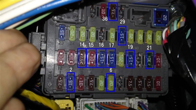 ステップワゴン Rk5 Rg Rf Rp3 Crz Stp Wgn Hqヒューズ サンキューカーズ 3q自動車 の 公式ホムペ