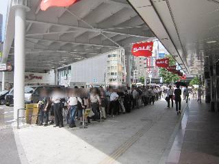 2018.07.09 西銀座チャンスセンター1番窓口