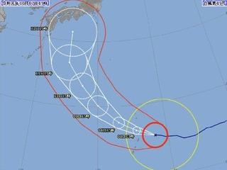 台風19号 気象庁