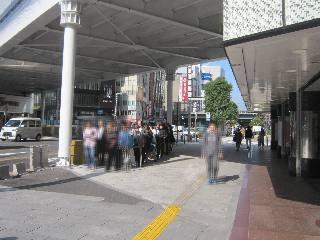 2018.10.17 西銀座チャンスセンター1番窓