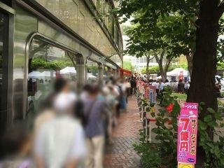 2019.7.2 西銀座チャンスセンター1番窓口
