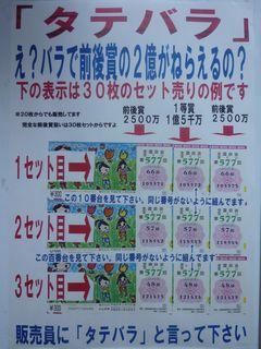 大阪駅前第四ビル特設売場タテバラ
