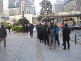 2018.12.21 西銀座チャンスセンター1番窓口