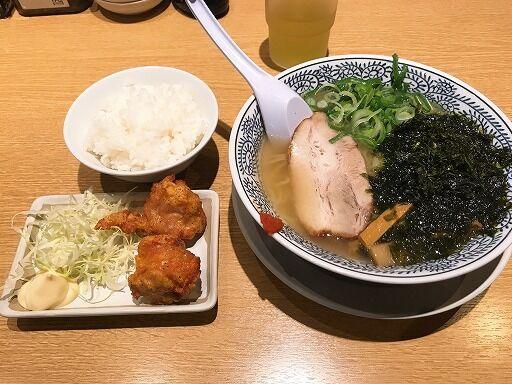 本日のLunch(2019/12/02)丸源ラーメン 泉佐野店