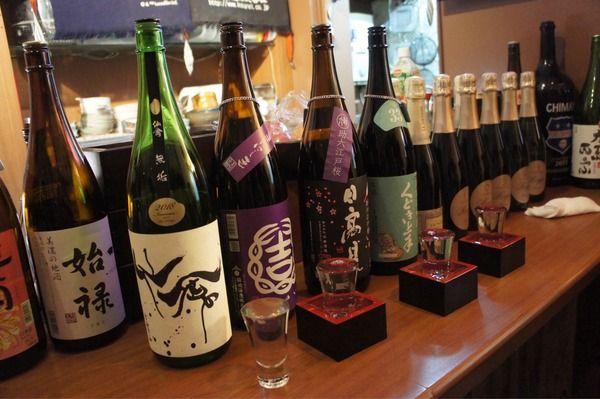 日本酒好きが集合! 日本酒や一路 心斎橋