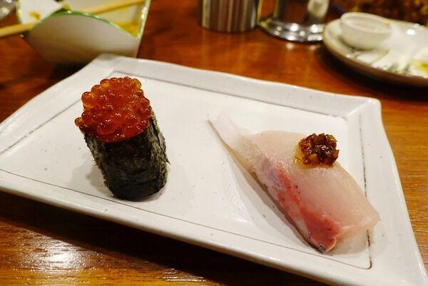 3月オープンの立ち飲み。おばんざいを楽しんだのち、〆に寿司る。 スタンドザッキー 扇町