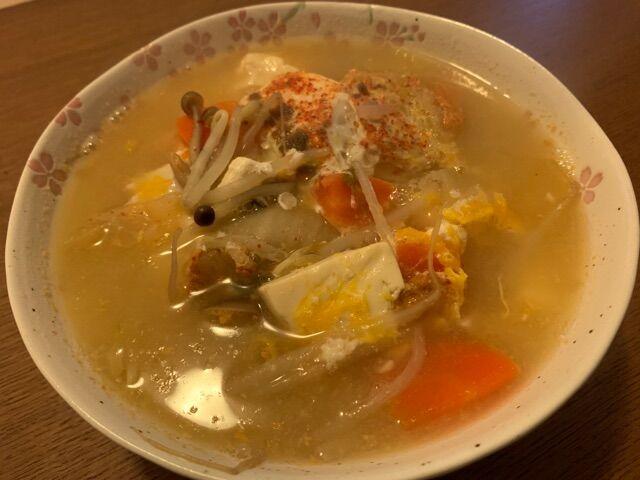 四日目も野菜スープ♪@家ごはん