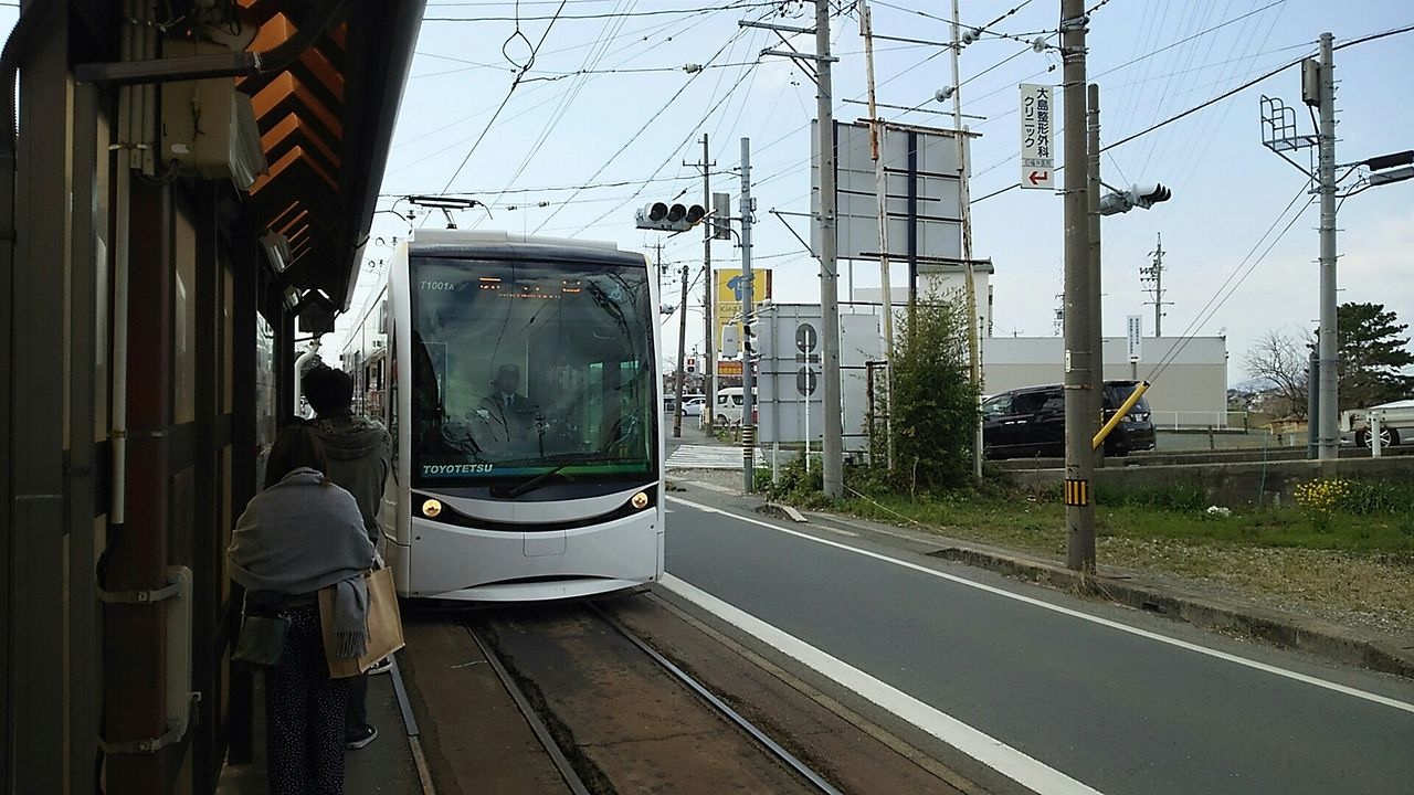 豊橋鉄道 T1000形 ほっトラム : ...