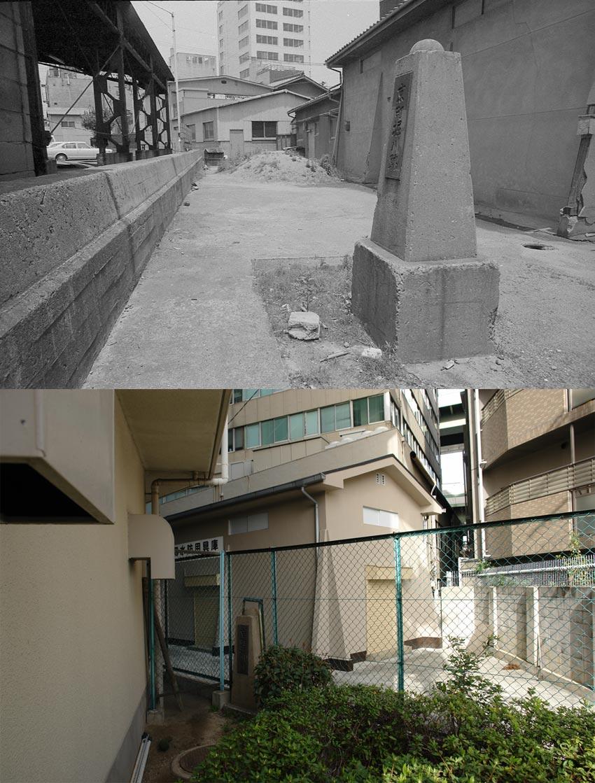 探さなければ見つからない京町堀川跡碑 : 大阪を歩こう