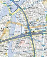 自転車の 自転車便 大阪市 : ... 大阪 市 西区 江之子島 付近 ☆