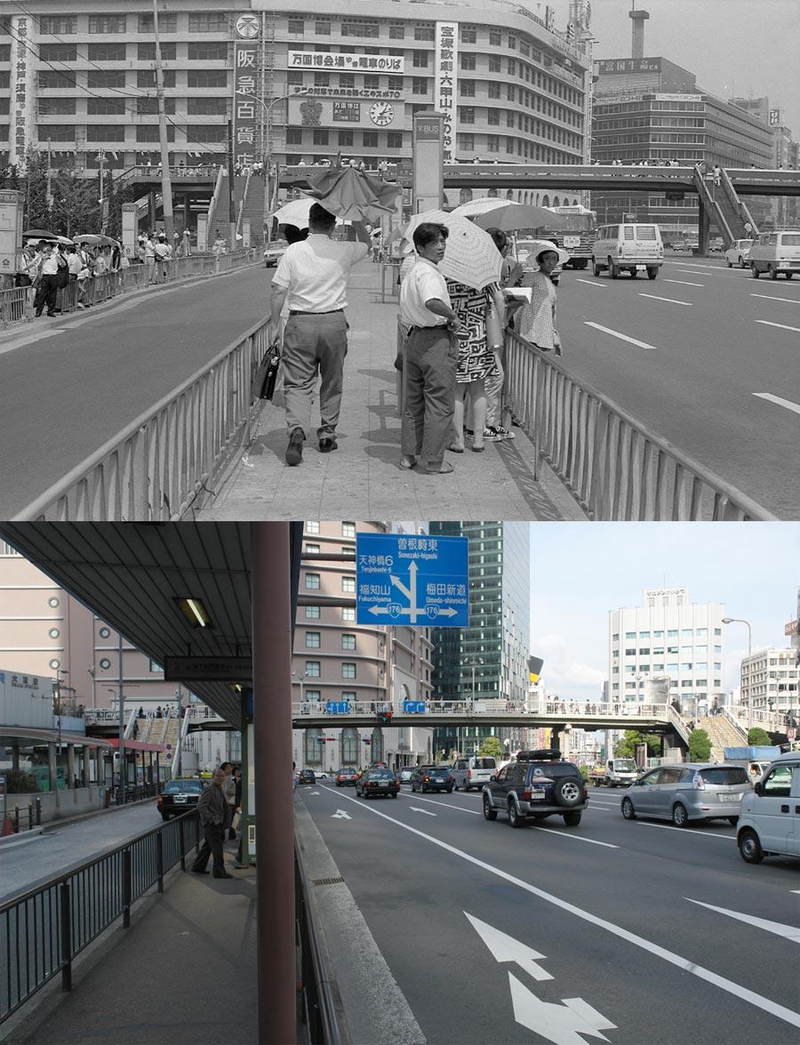 1970年の阪急百貨店写真 : 大阪を歩こう
