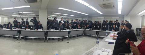 bjリーグ代表者会議の様子