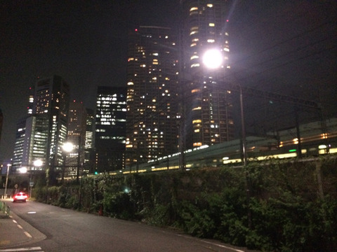 浜松町から新橋へ