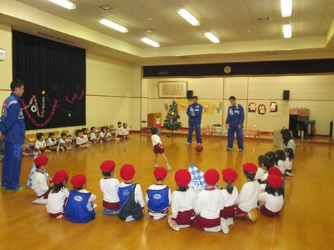 幼稚園でのイベント