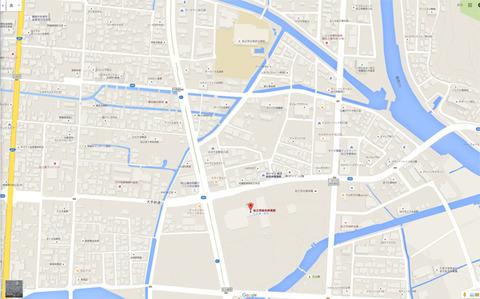 松江市総合体育館地図
