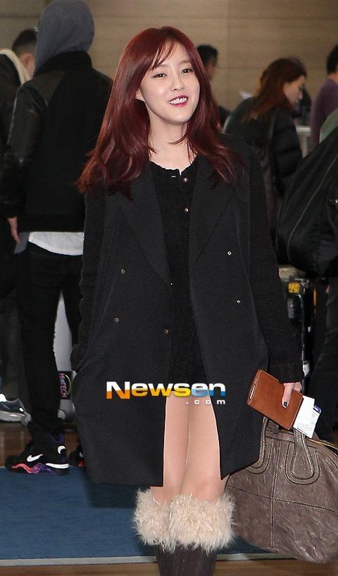 T-ara ヒョミン 私服