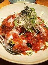 いくらてんこ盛り♪海鮮サラダ