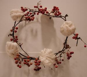 なんかの実のついた枝