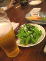枝豆&ビール