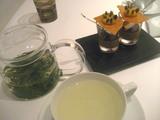 プチフール&お茶