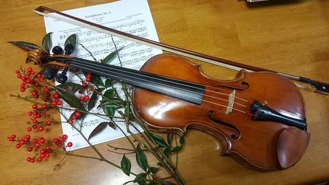 ヴァイオリン①