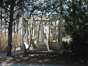 ウイーン、ハイリゲンシュタッター公園のベートーヴェン像