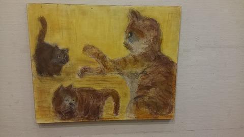 赤塚先生絵画教室①