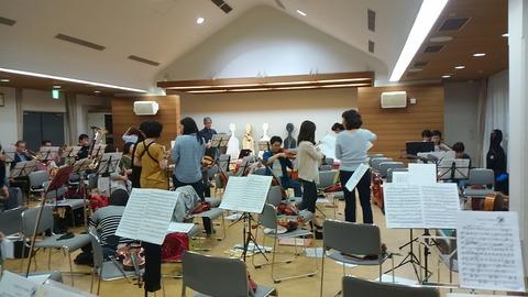 オーケストラ練習㋅4日