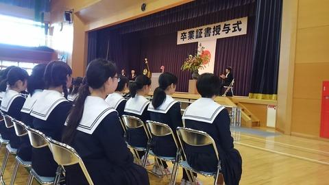 29年北中卒業式②