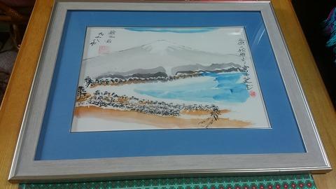 美保の松原からの富士②