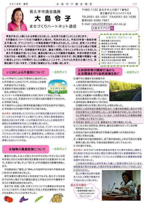 2018夏大島令子(表)
