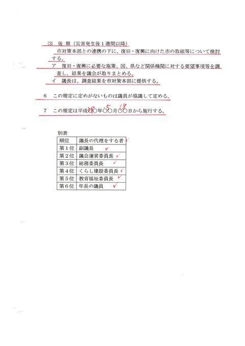 災害対策行動マニュアル3