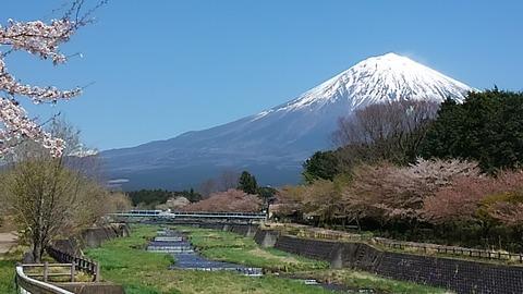 29年4月富士山