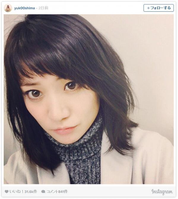 髪型を参考にしたい芸能人 AKB48【大島優子】ヘアスタイル画像集 1/2 【ヘアスタイル情報館・パーマ ロング 】  ヘアスタイル情報館