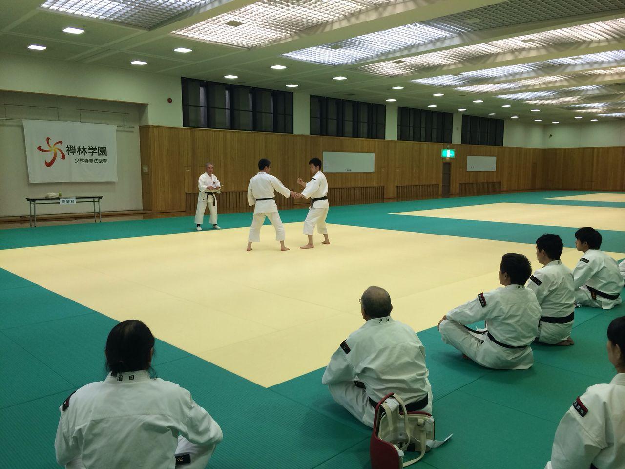 大阪府少林寺拳法連盟のblog   2014年度武道専門コース進級・修了技術審査を実施! コメント