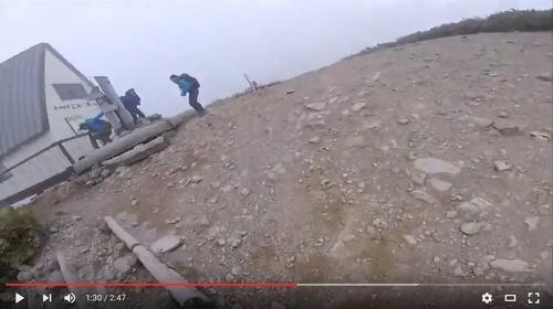 氷ノ山training